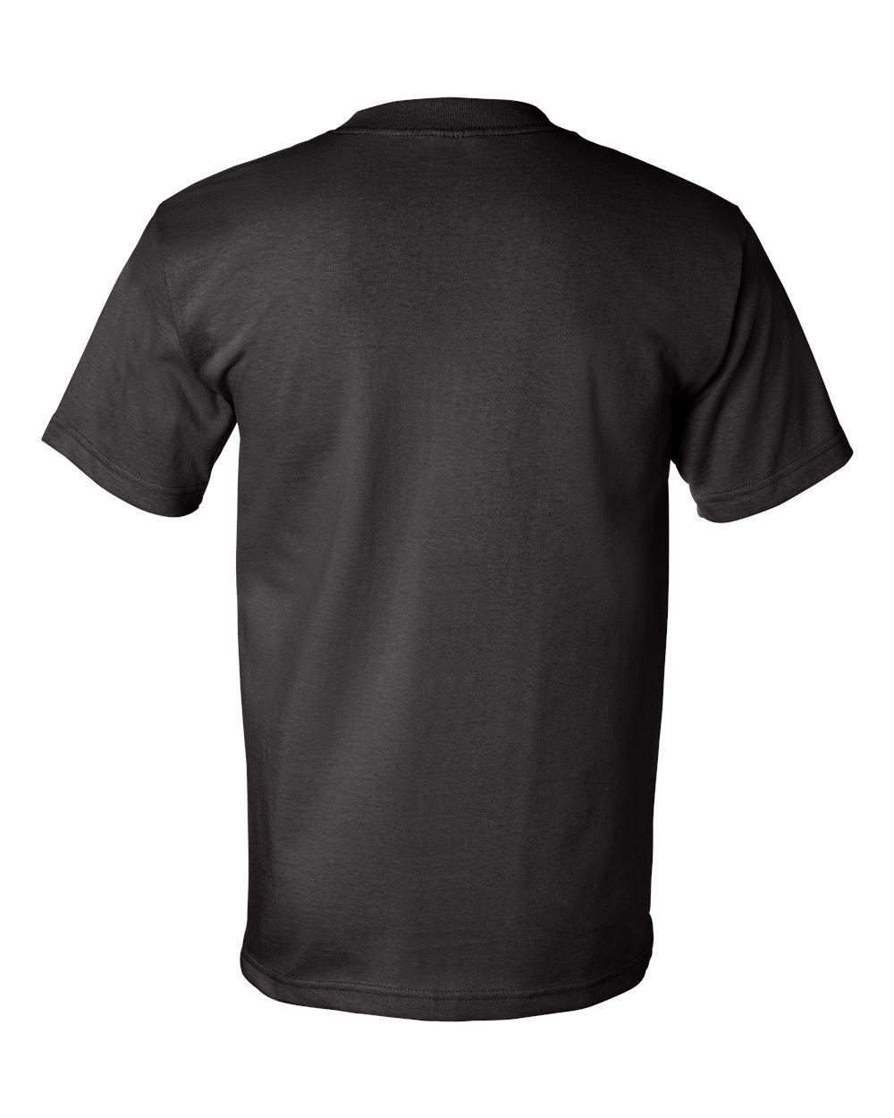 Bayside-Mens-Cotton-Blank-USA-Made-Short-Sleeve-T-Shirt-5100-up-to-5XL thumbnail 10