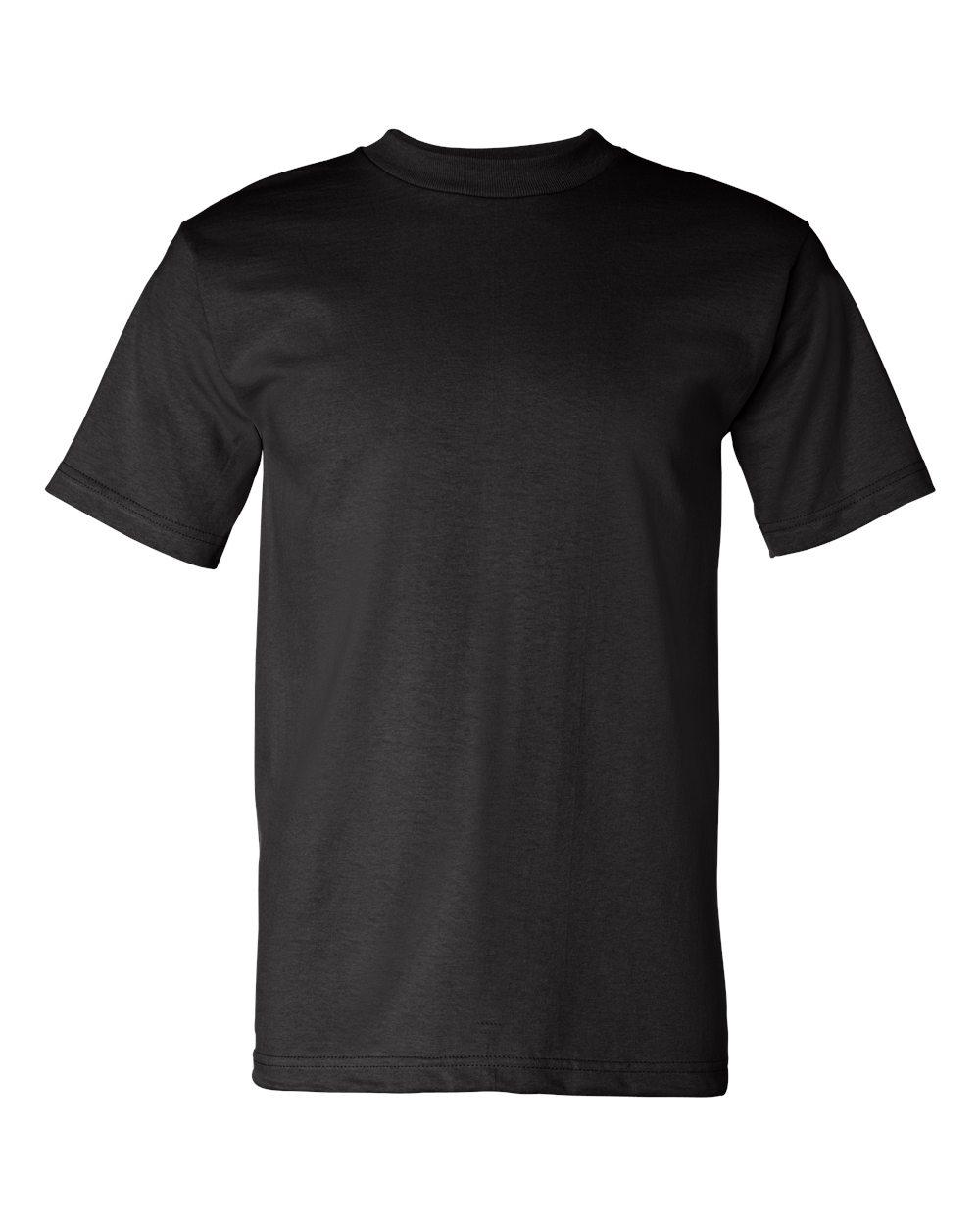 Bayside-Mens-Cotton-Blank-USA-Made-Short-Sleeve-T-Shirt-5100-up-to-5XL thumbnail 9