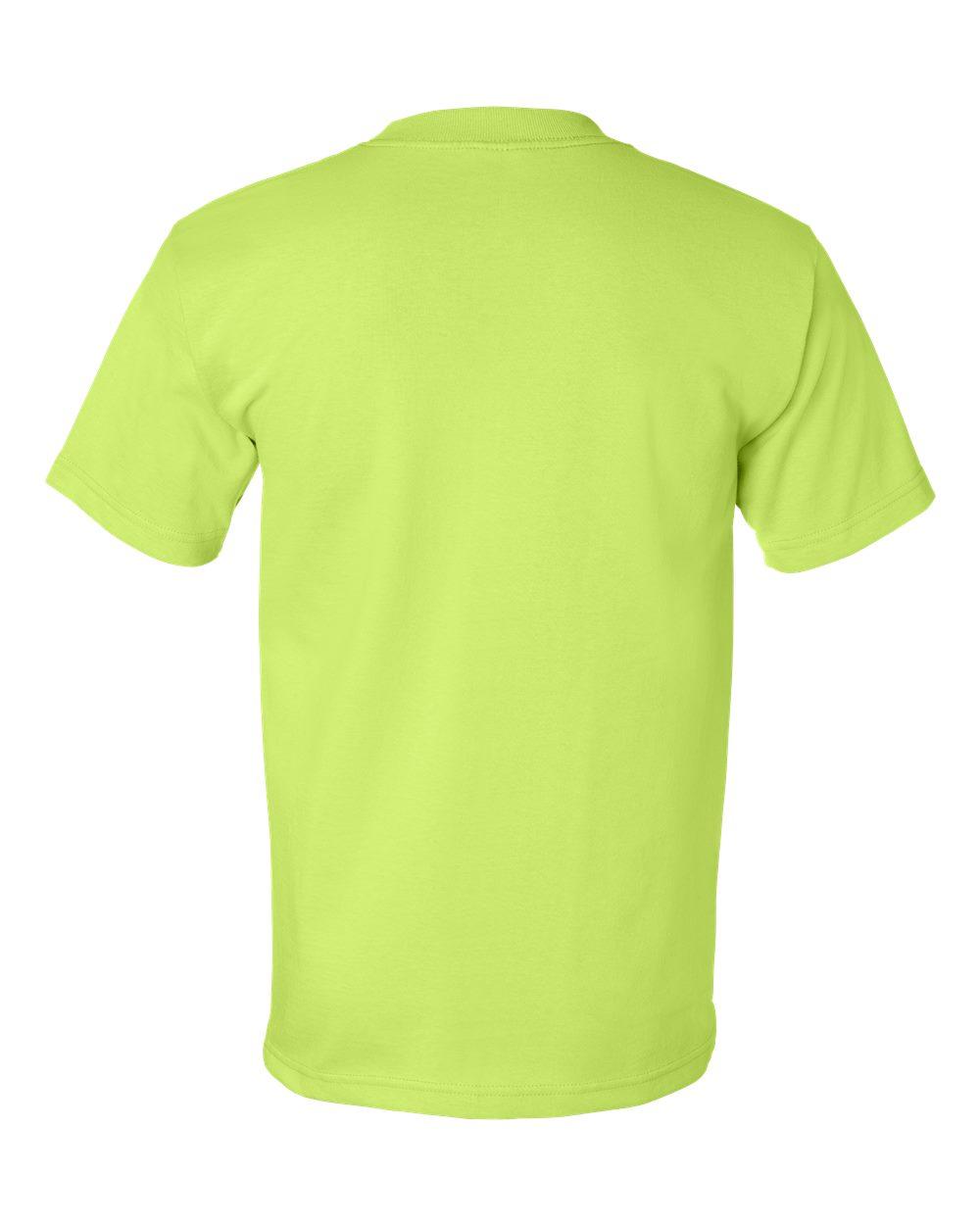 Bayside-Mens-Cotton-Blank-USA-Made-Short-Sleeve-T-Shirt-5100-up-to-5XL thumbnail 25