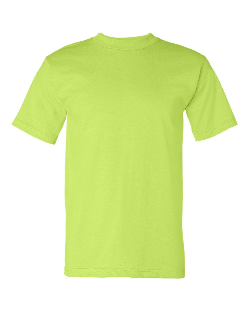 Bayside-Mens-Cotton-Blank-USA-Made-Short-Sleeve-T-Shirt-5100-up-to-5XL thumbnail 24