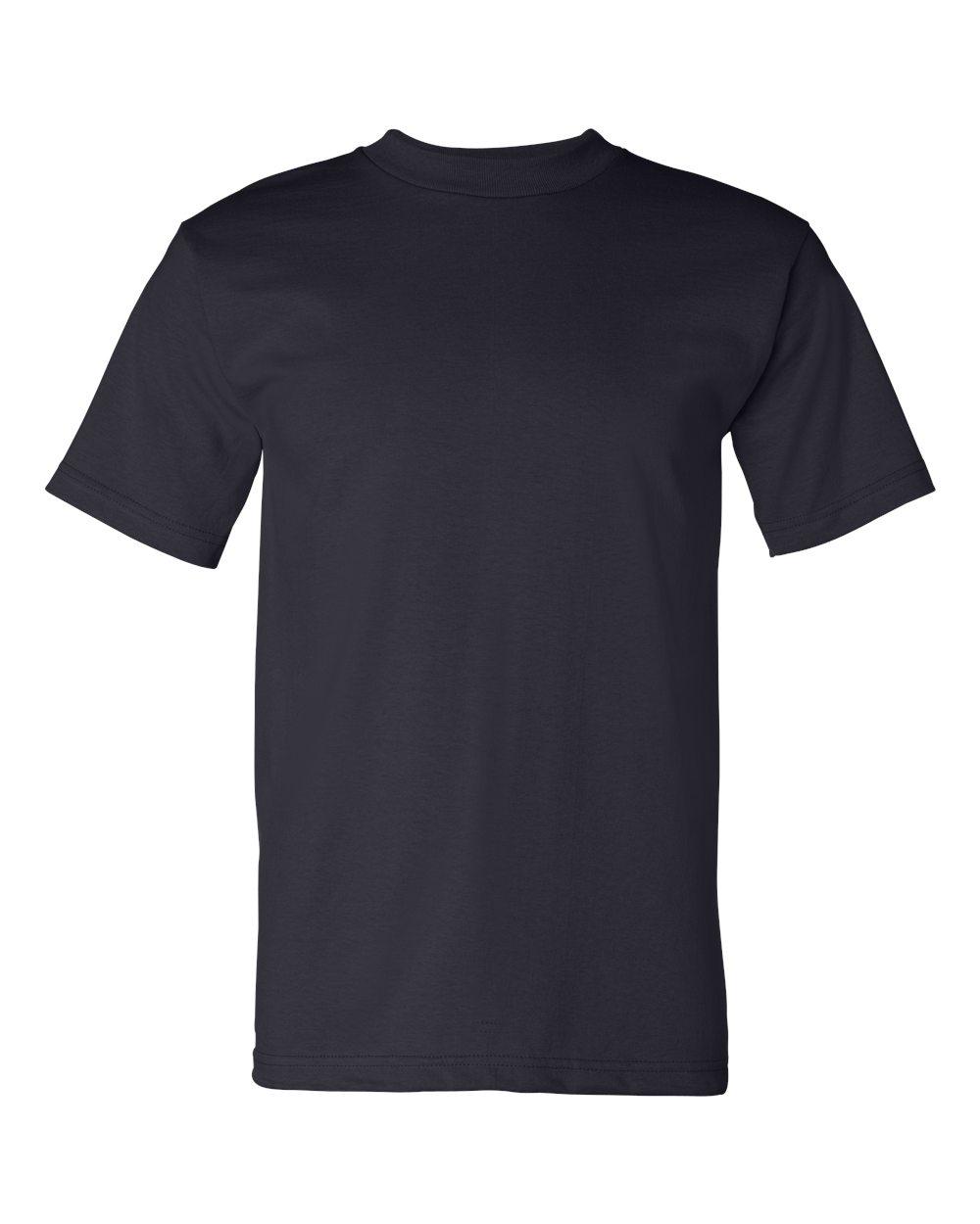 Bayside-Mens-Cotton-Blank-USA-Made-Short-Sleeve-T-Shirt-5100-up-to-5XL thumbnail 27