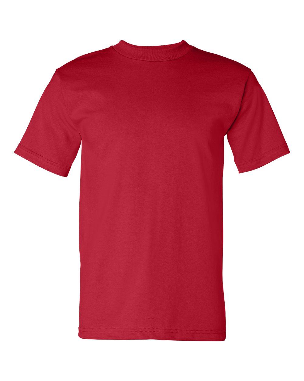 Bayside-Mens-Cotton-Blank-USA-Made-Short-Sleeve-T-Shirt-5100-up-to-5XL thumbnail 33