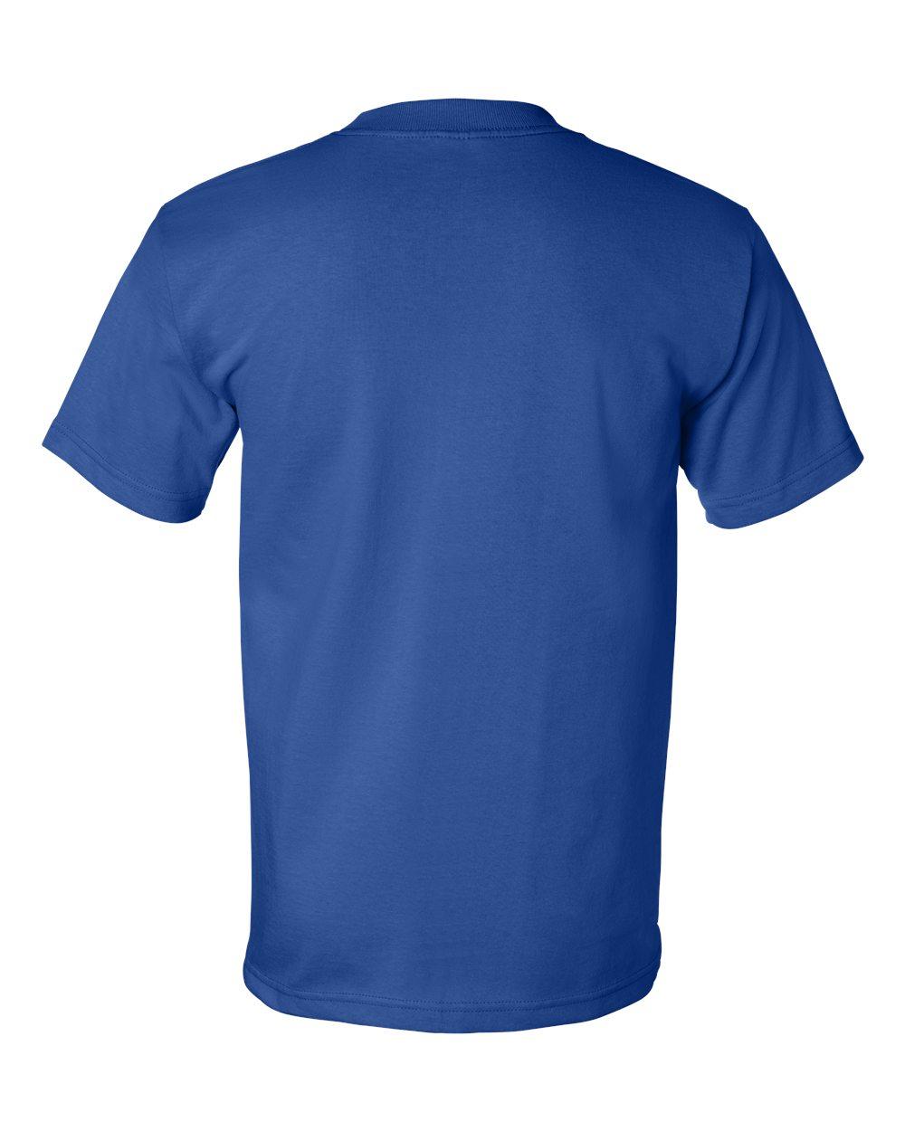 Bayside-Mens-Cotton-Blank-USA-Made-Short-Sleeve-T-Shirt-5100-up-to-5XL thumbnail 37