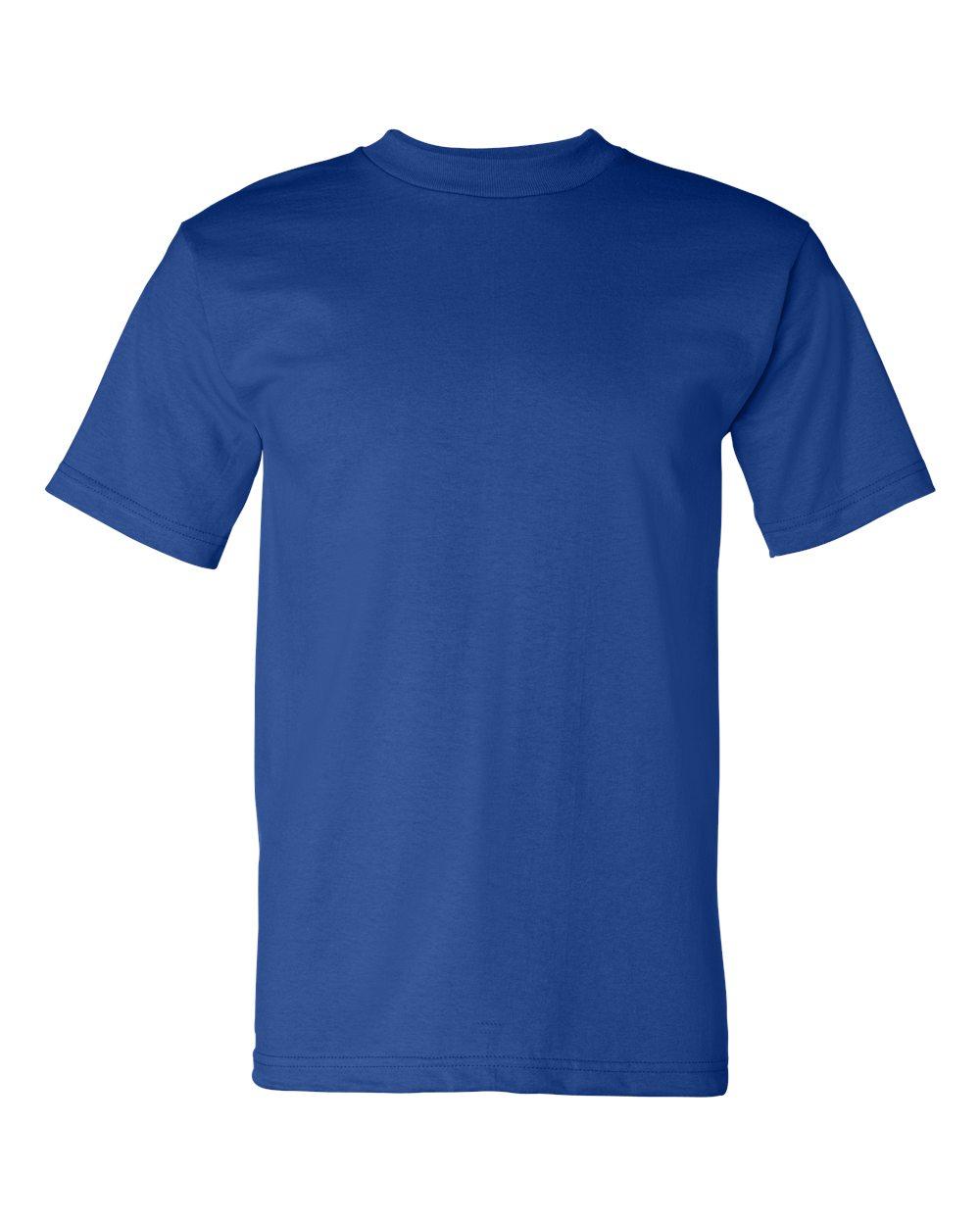 Bayside-Mens-Cotton-Blank-USA-Made-Short-Sleeve-T-Shirt-5100-up-to-5XL thumbnail 36