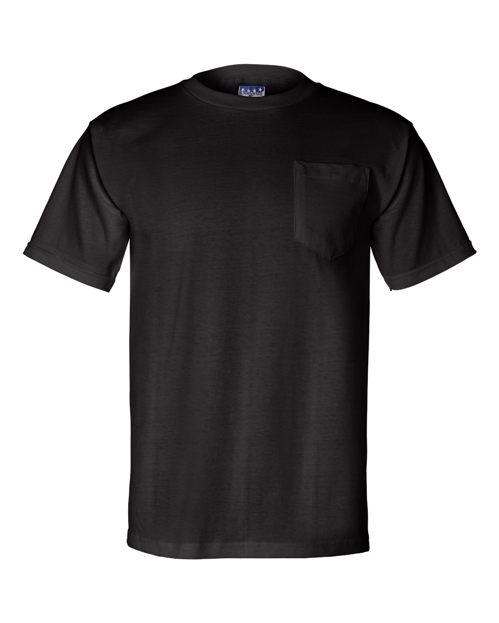 Bayside-Mens-Union-Made-Short-Sleeve-T-Shirt-with-a-Pocket-3015-up-to-3XL thumbnail 6