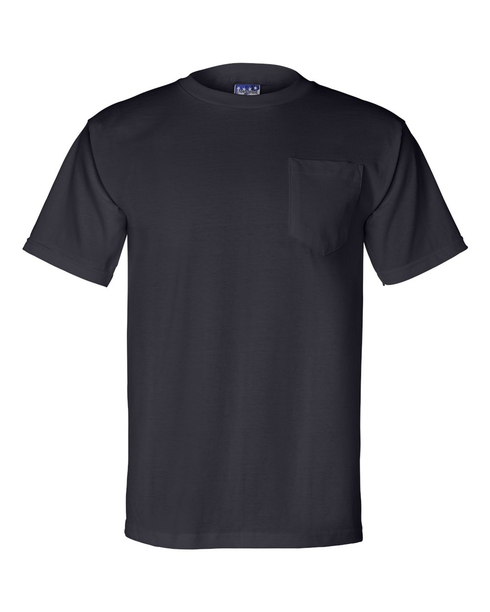 Bayside-Mens-Union-Made-Short-Sleeve-T-Shirt-with-a-Pocket-3015-up-to-3XL thumbnail 15