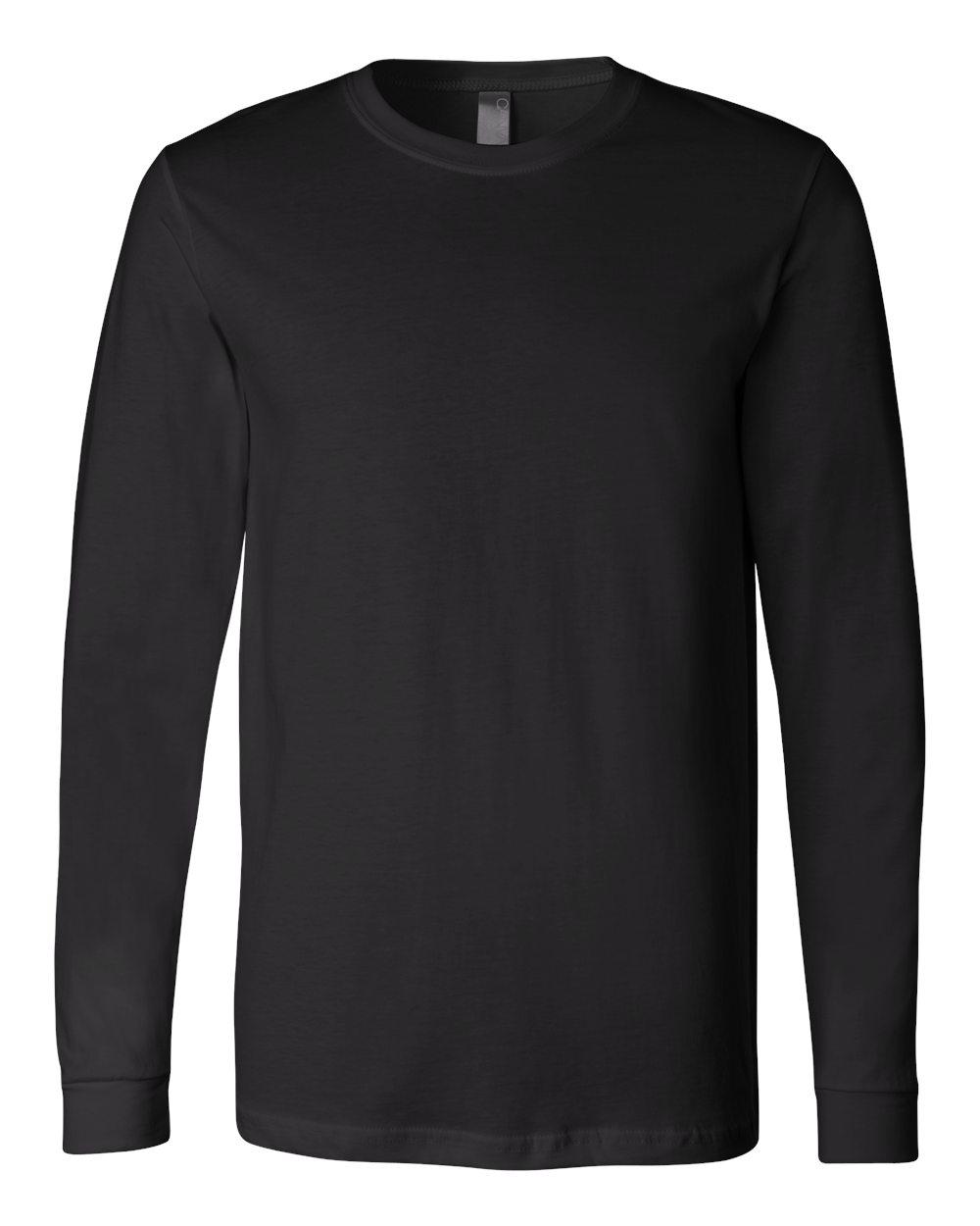 Bella-Canvas-Mens-Blank-Top-Long-Sleeve-Jersey-Tee-T-Shirt-3501-up-to-3XL thumbnail 18