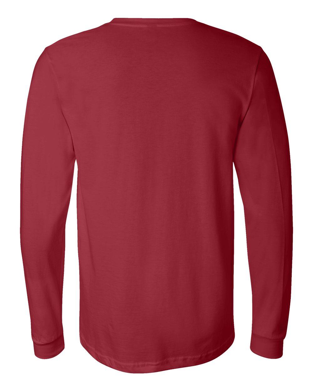 Bella-Canvas-Mens-Blank-Top-Long-Sleeve-Jersey-Tee-T-Shirt-3501-up-to-3XL thumbnail 28