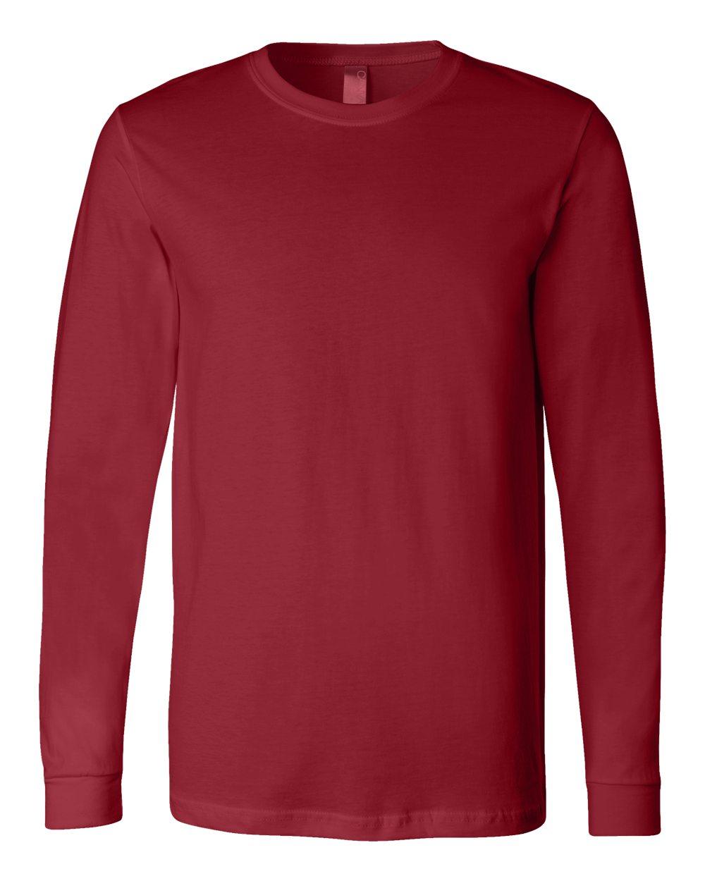 Bella-Canvas-Mens-Blank-Top-Long-Sleeve-Jersey-Tee-T-Shirt-3501-up-to-3XL thumbnail 27