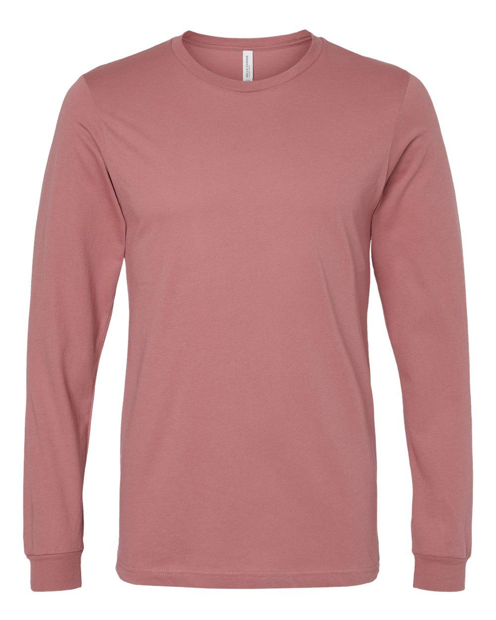 Bella-Canvas-Mens-Blank-Top-Long-Sleeve-Jersey-Tee-T-Shirt-3501-up-to-3XL thumbnail 42