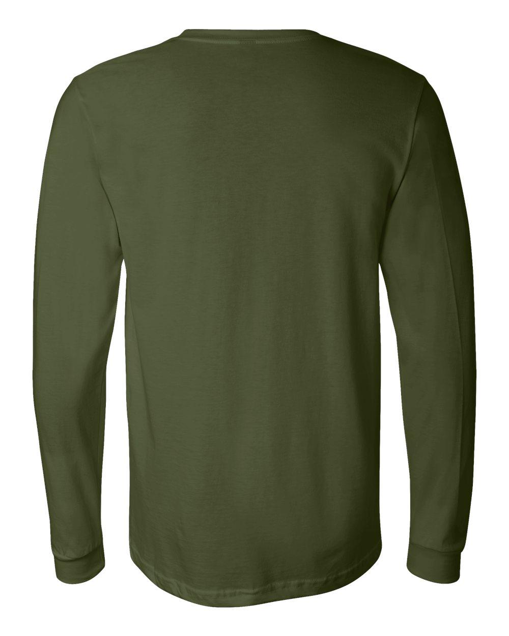 Bella-Canvas-Mens-Blank-Top-Long-Sleeve-Jersey-Tee-T-Shirt-3501-up-to-3XL thumbnail 95