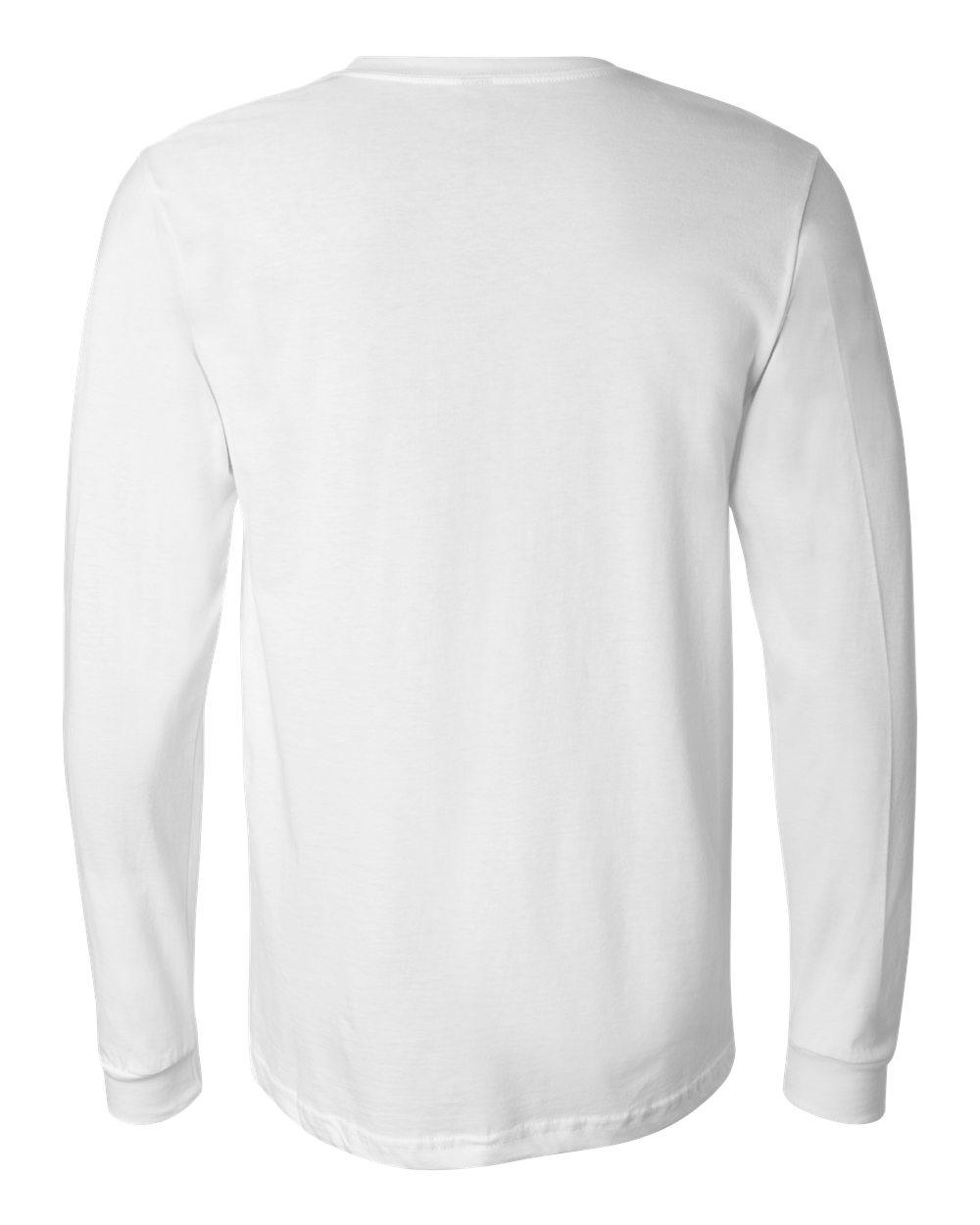Bella-Canvas-Mens-Blank-Top-Long-Sleeve-Jersey-Tee-T-Shirt-3501-up-to-3XL thumbnail 117