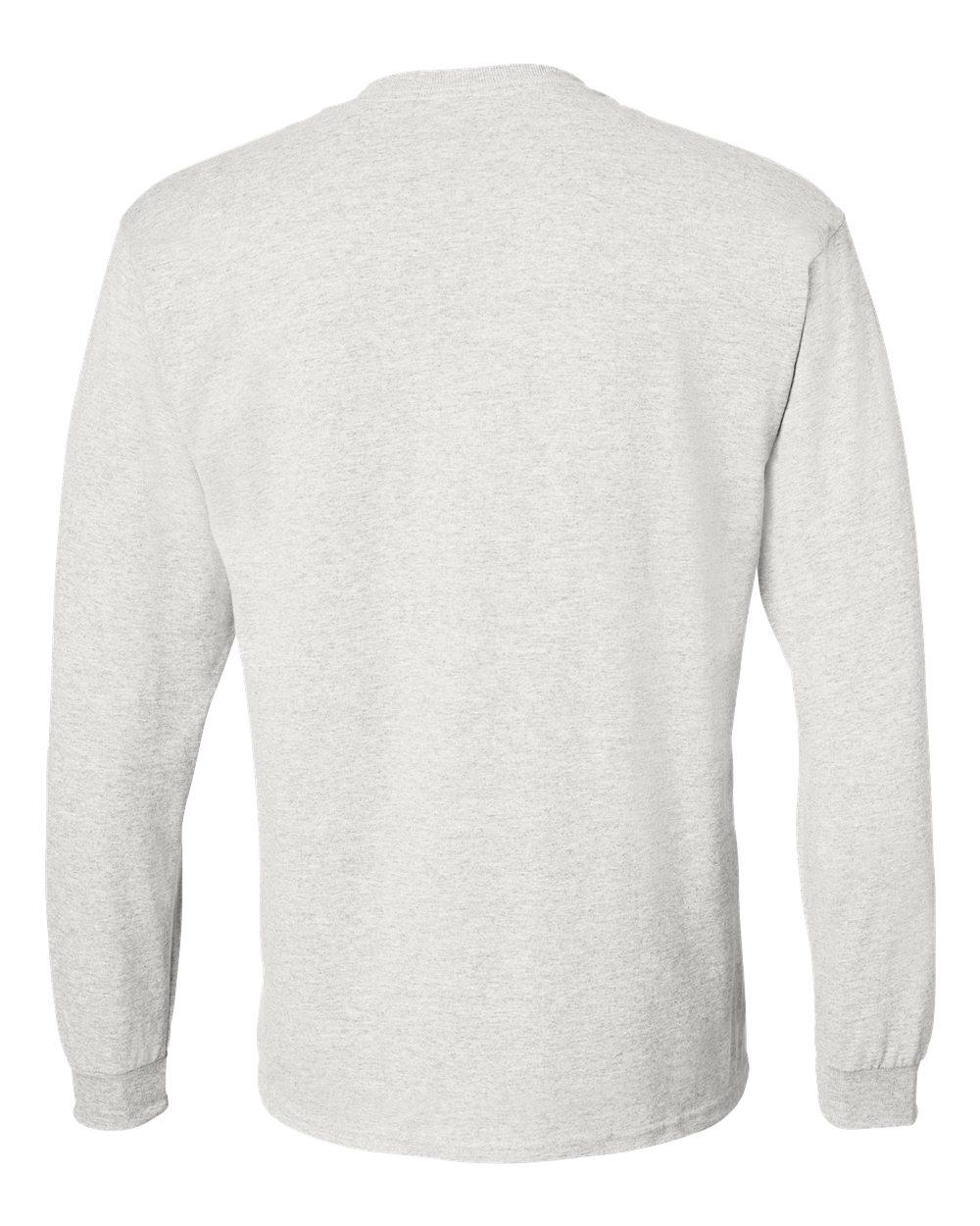 Gildan-Mens-Blank-DryBlend-50-50-Cotton-Long-Sleeve-T-Shirt-8400-up-to-3XL miniature 7