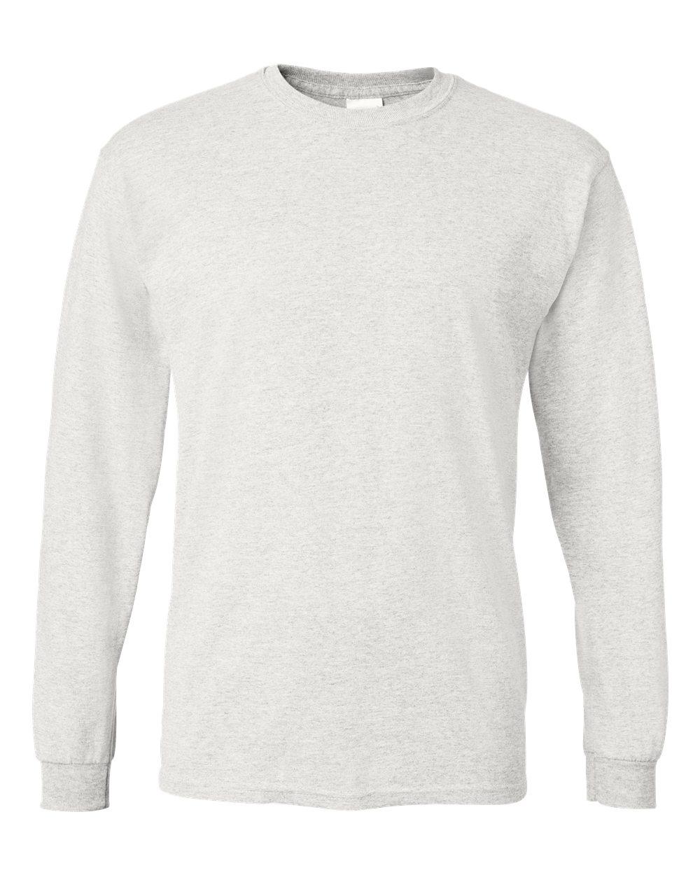Gildan-Mens-Blank-DryBlend-50-50-Cotton-Long-Sleeve-T-Shirt-8400-up-to-3XL miniature 6