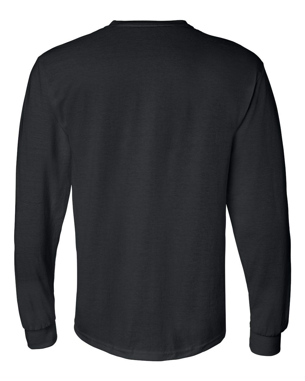 Gildan-Mens-Blank-DryBlend-50-50-Cotton-Long-Sleeve-T-Shirt-8400-up-to-3XL miniature 10