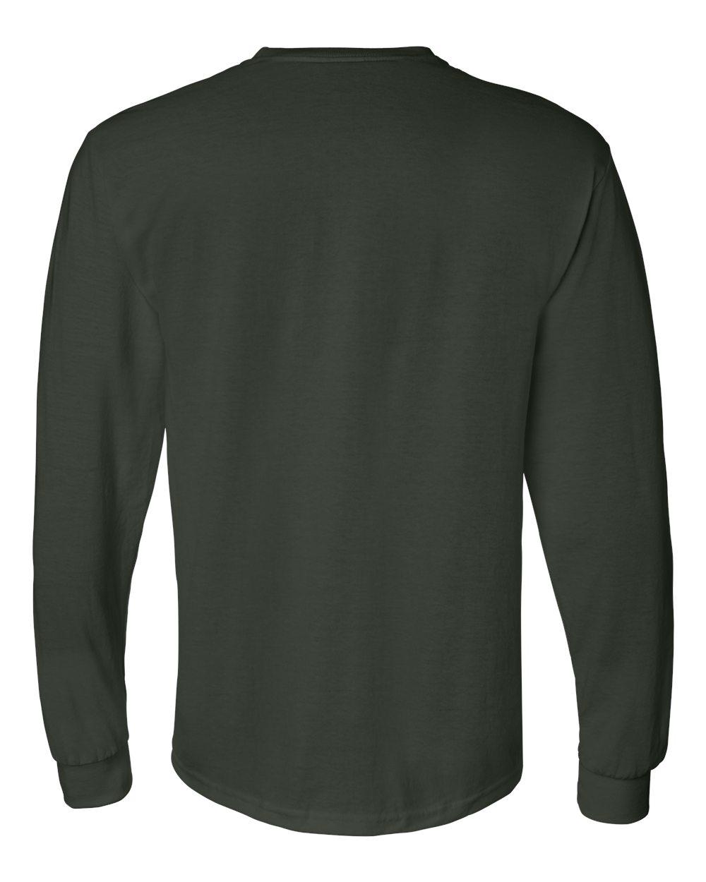 Gildan-Mens-Blank-DryBlend-50-50-Cotton-Long-Sleeve-T-Shirt-8400-up-to-3XL miniature 19