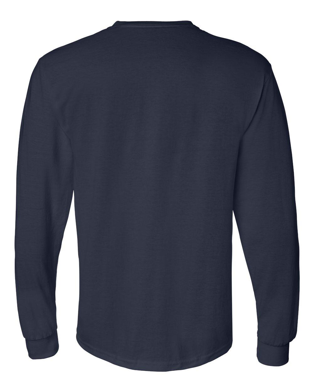 Gildan-Mens-Blank-DryBlend-50-50-Cotton-Long-Sleeve-T-Shirt-8400-up-to-3XL miniature 28
