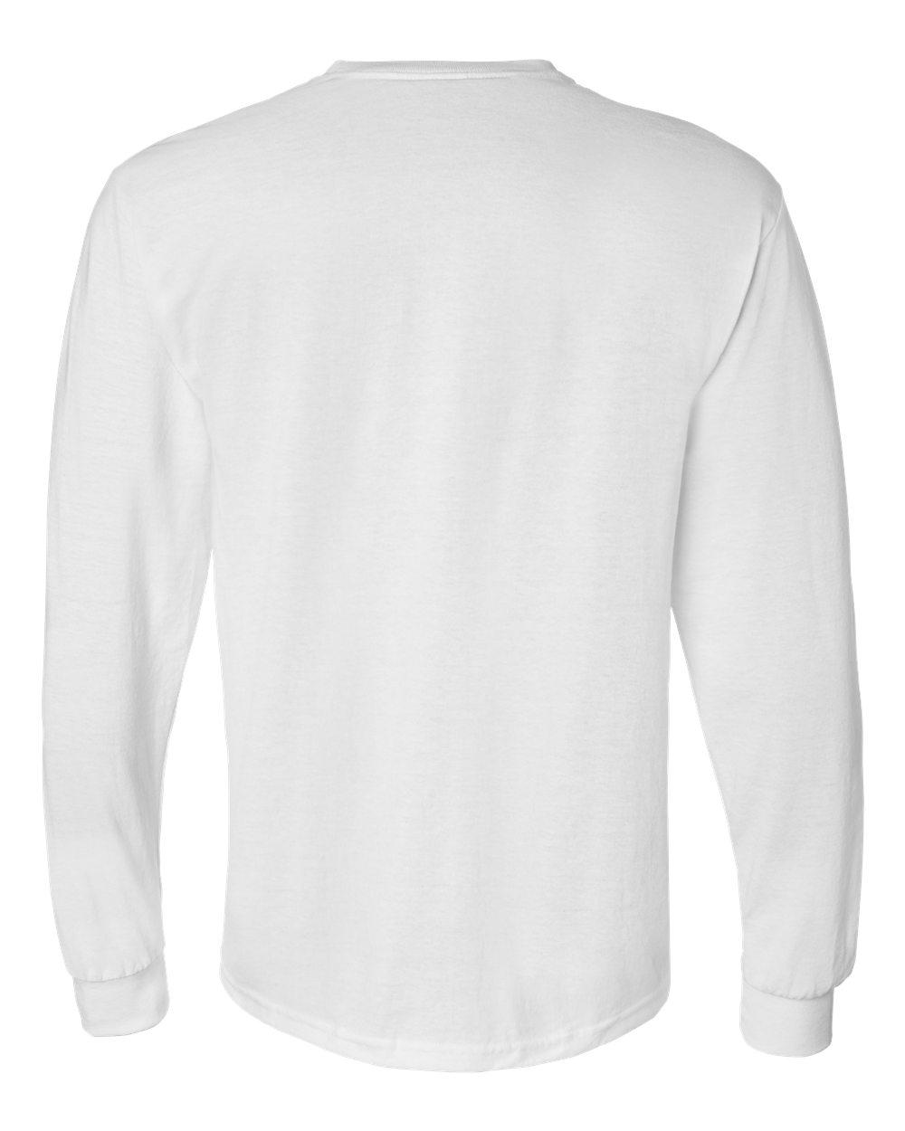 Gildan-Mens-Blank-DryBlend-50-50-Cotton-Long-Sleeve-T-Shirt-8400-up-to-3XL miniature 49