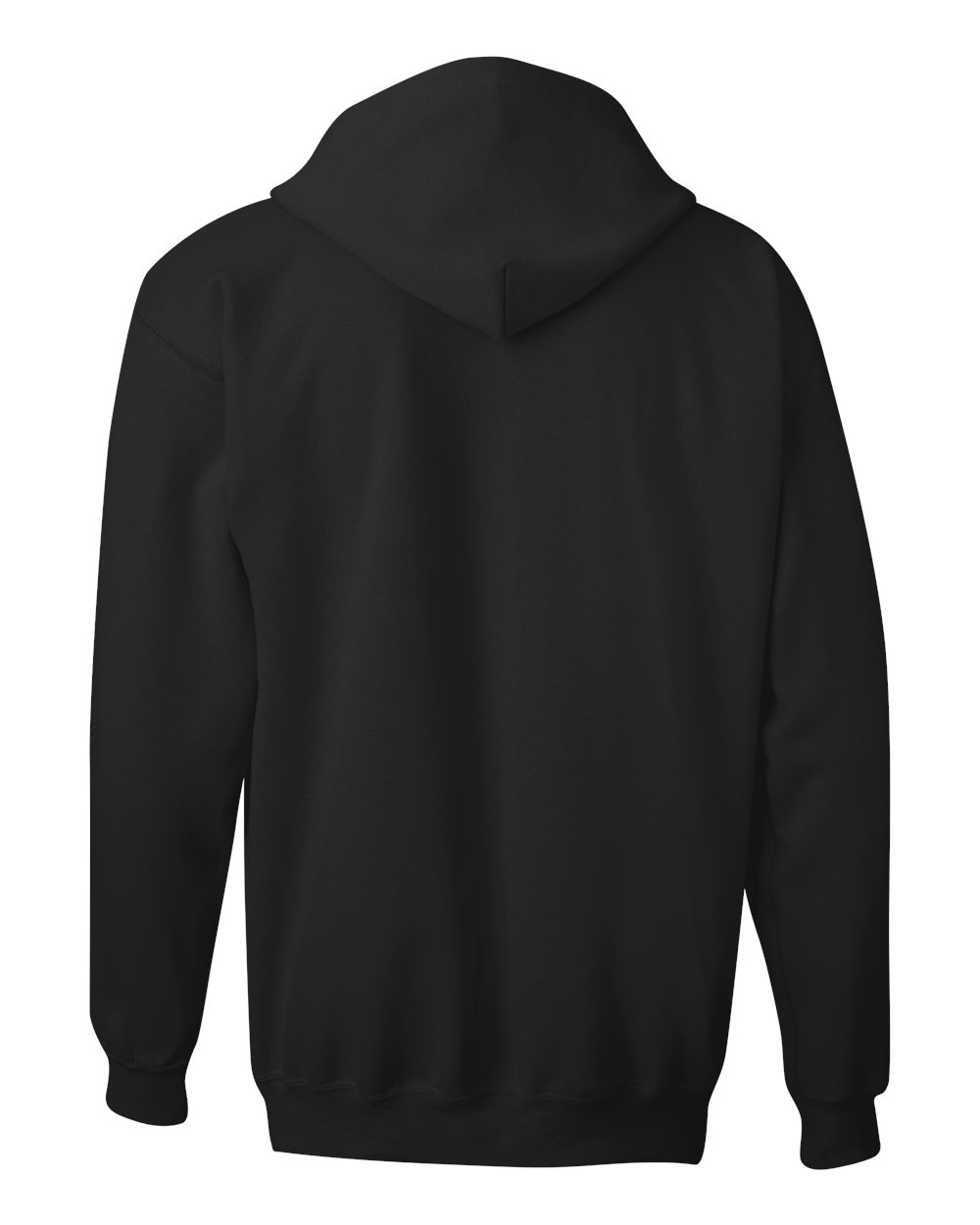 Hanes-Mens-Blank-Ultimate-Cotton-Full-Zip-Hooded-Sweatshirt-F280-up-to-3XL miniature 7