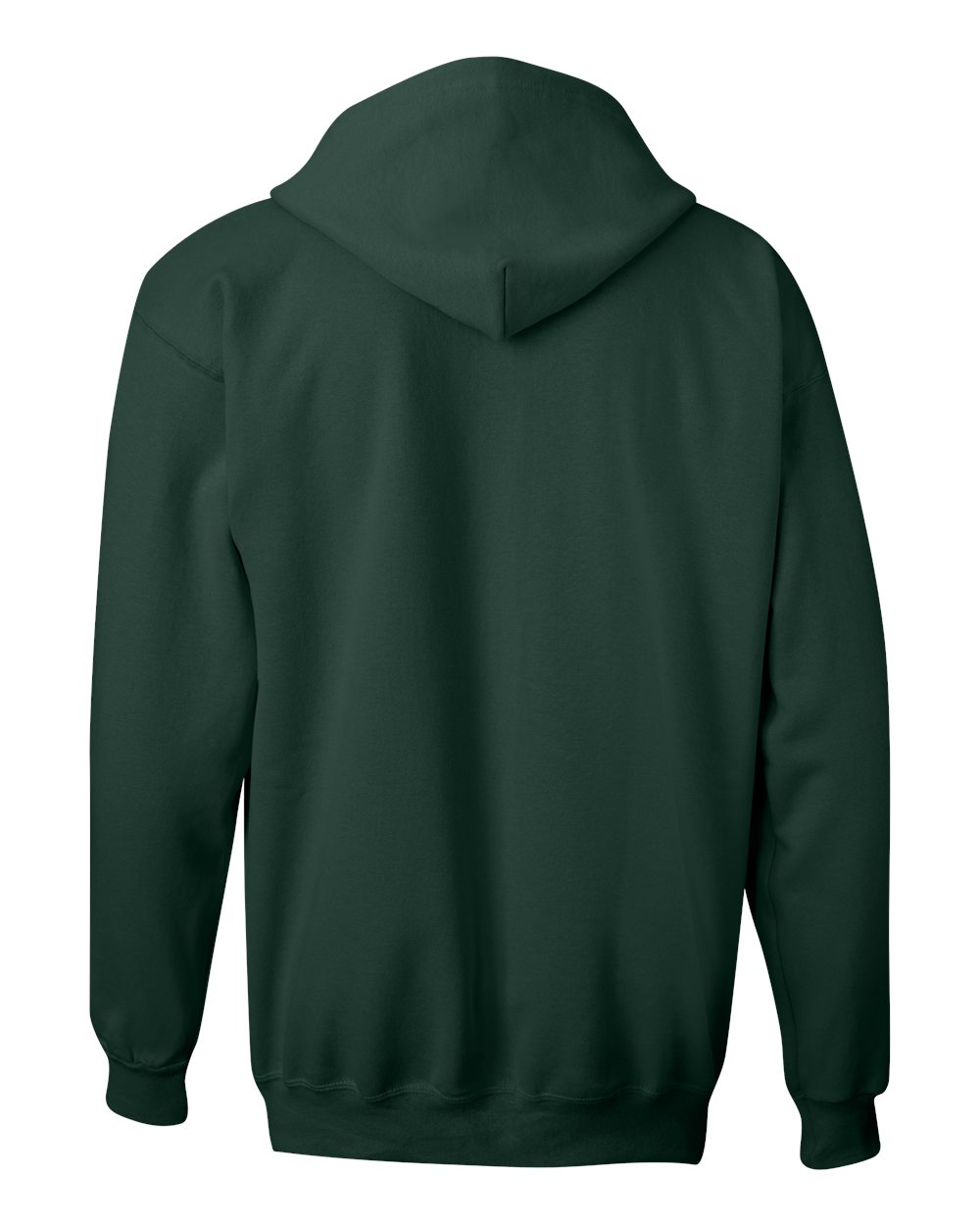 Hanes-Mens-Blank-Ultimate-Cotton-Full-Zip-Hooded-Sweatshirt-F280-up-to-3XL miniature 13