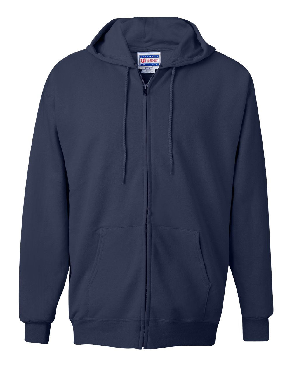 Hanes-Mens-Blank-Ultimate-Cotton-Full-Zip-Hooded-Sweatshirt-F280-up-to-3XL miniature 15