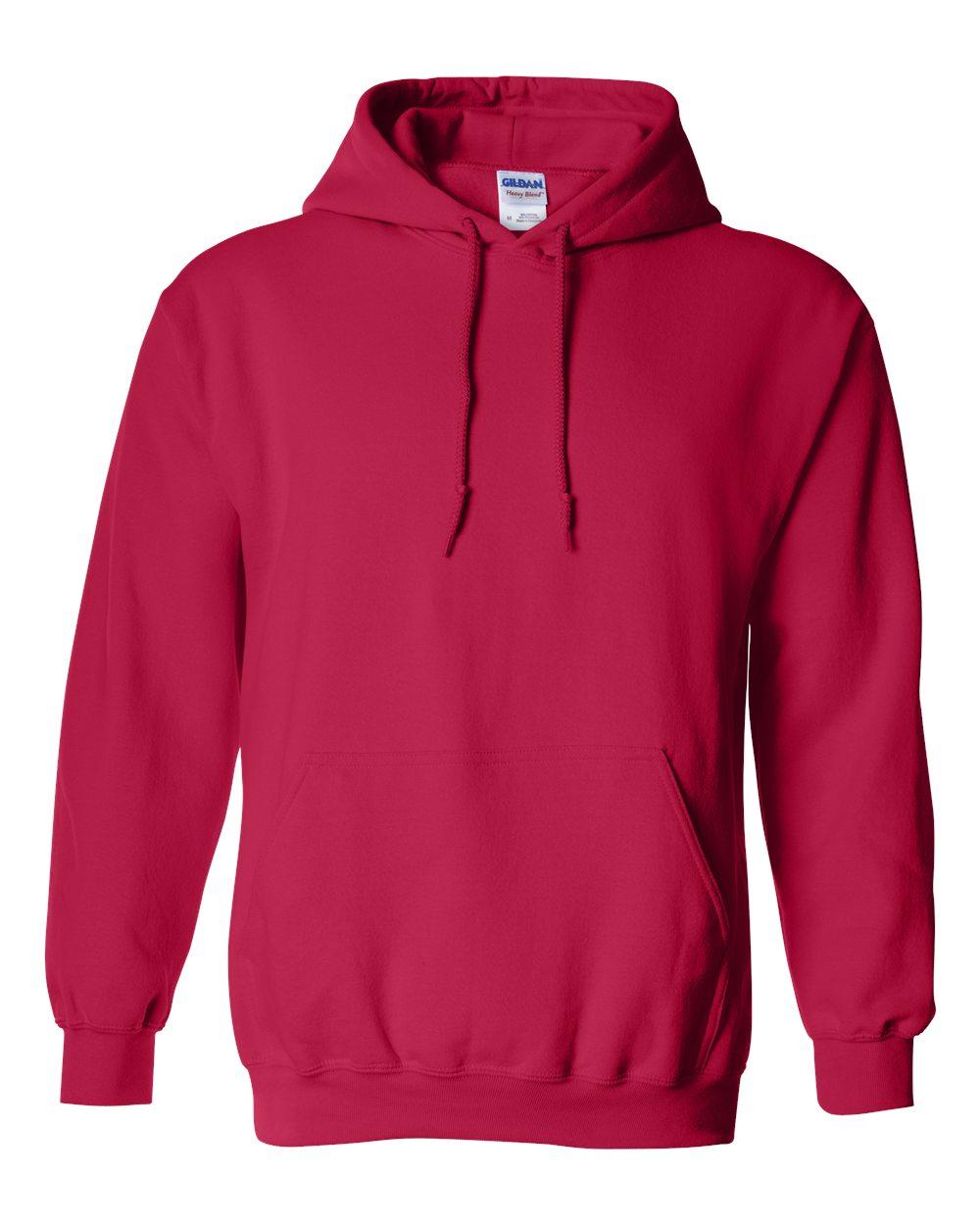 Gildan-Mens-Blank-Hoodie-Heavy-Blend-Hooded-Sweatshirt-Solid-18500-up-to-5XL thumbnail 21