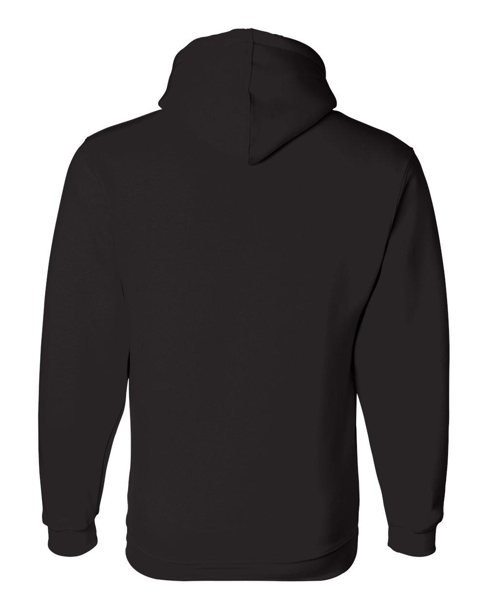 Bayside-Mens-Blank-USA-Made-Hooded-Sweatshirt-960-up-to-6XL miniature 7