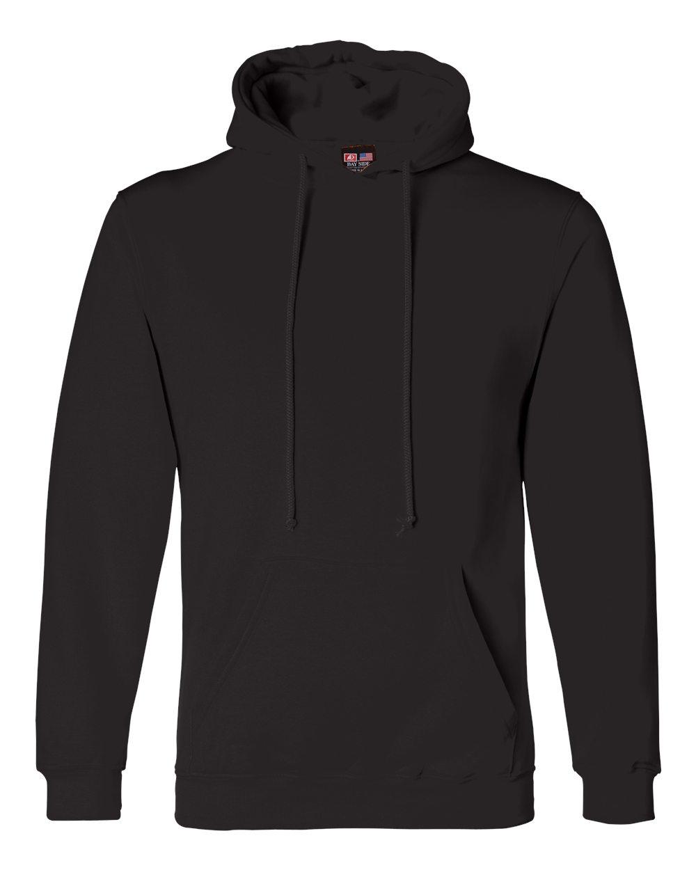 Bayside-Mens-Blank-USA-Made-Hooded-Sweatshirt-960-up-to-6XL miniature 6