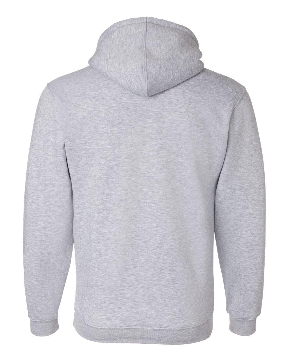 Bayside-Mens-Blank-USA-Made-Hooded-Sweatshirt-960-up-to-6XL miniature 16