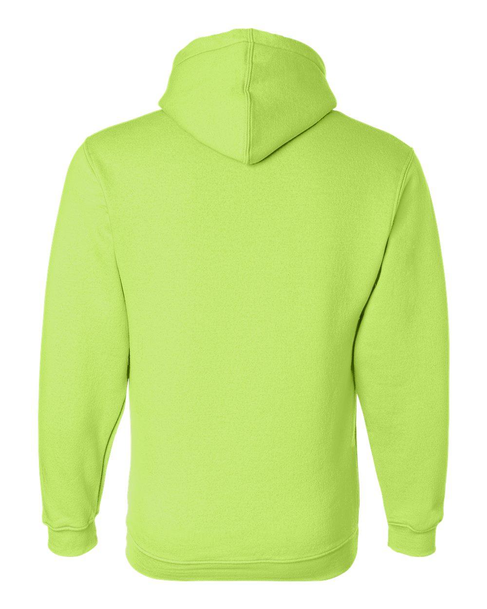 Bayside-Mens-Blank-USA-Made-Hooded-Sweatshirt-960-up-to-6XL miniature 19