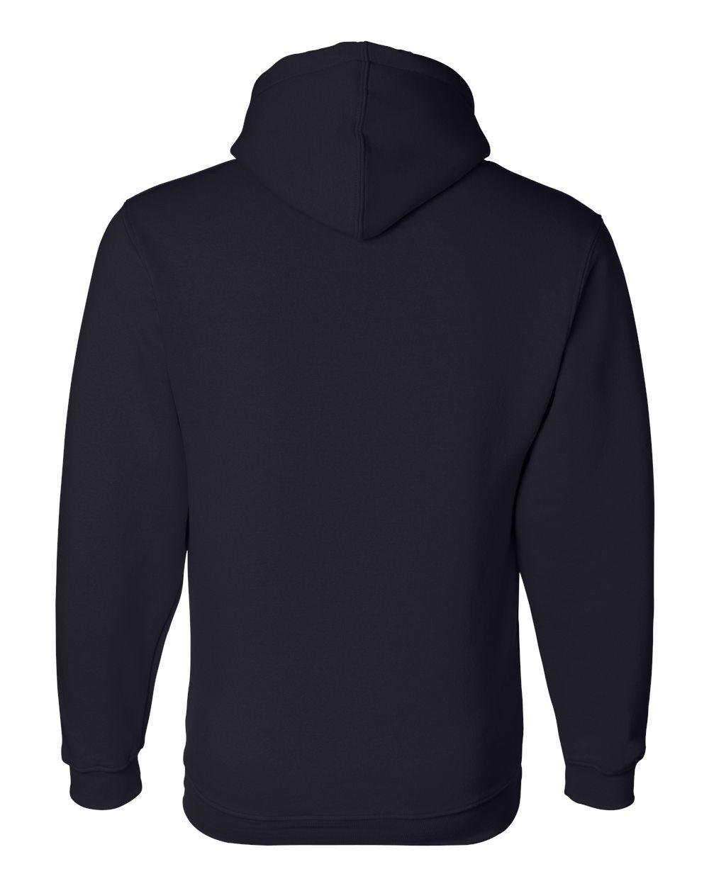Bayside-Mens-Blank-USA-Made-Hooded-Sweatshirt-960-up-to-6XL miniature 22