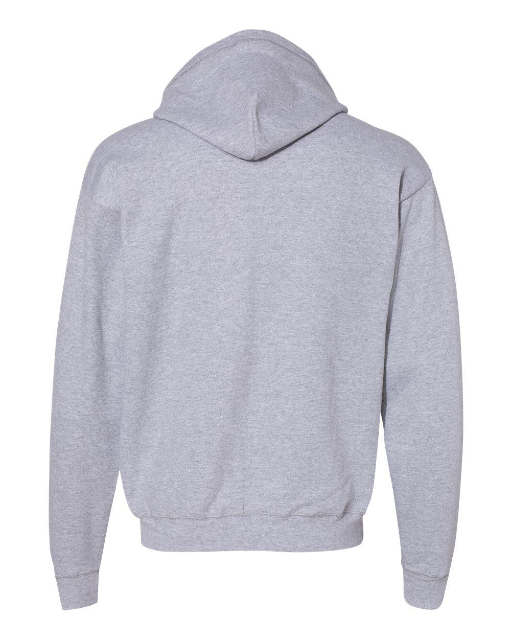 Hanes-Mens-Ecosmart-Blend-Full-Zip-Hooded-Sweatshirt-P180-up-to-3XL miniature 10