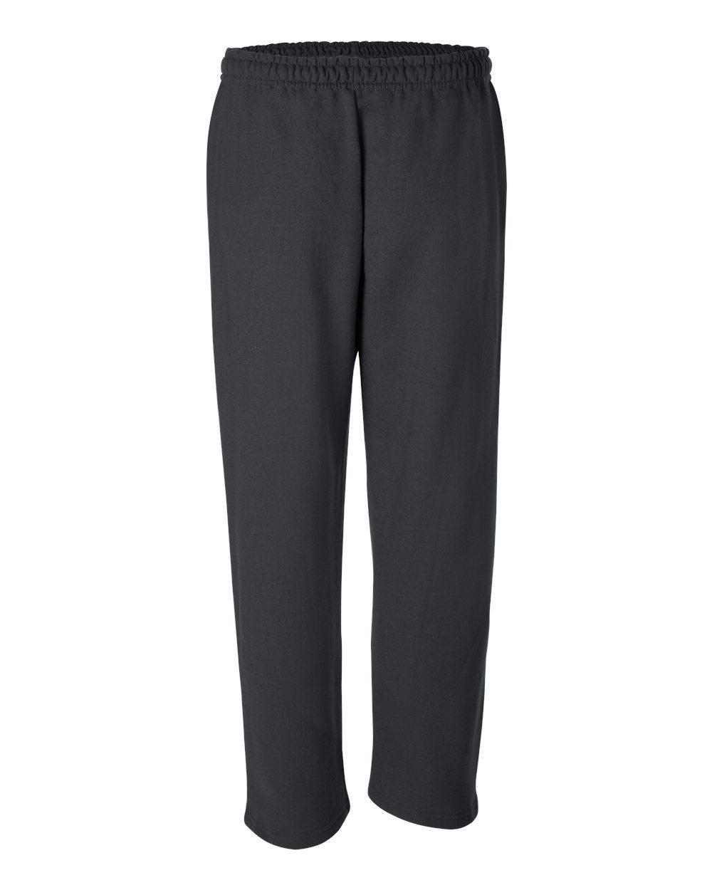 Gildan-Mens-DryBlend-Open-Bottom-Pocket-Sweatpants-12300-up-to-2XL thumbnail 7