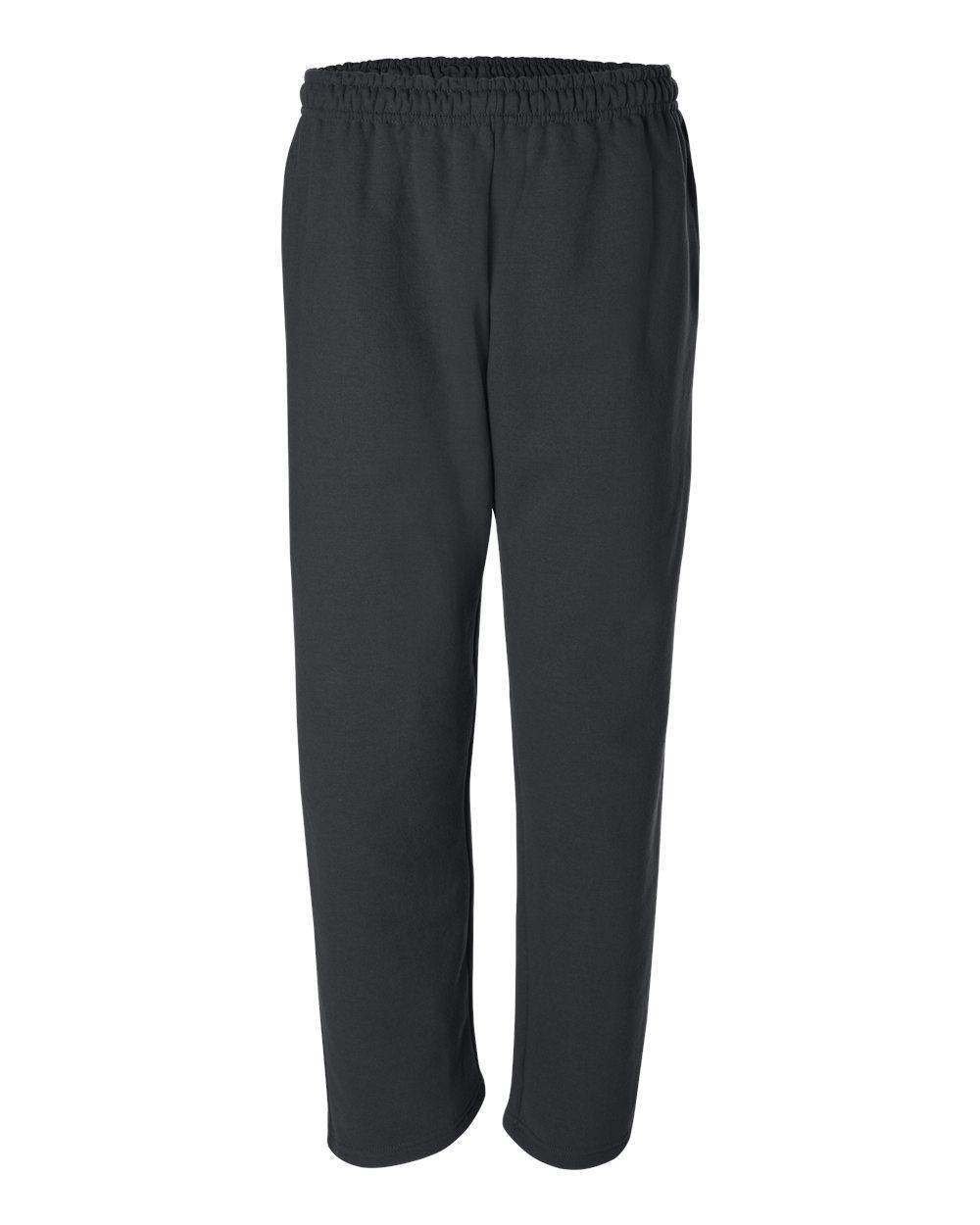 Gildan-Mens-DryBlend-Open-Bottom-Pocket-Sweatpants-12300-up-to-2XL thumbnail 6