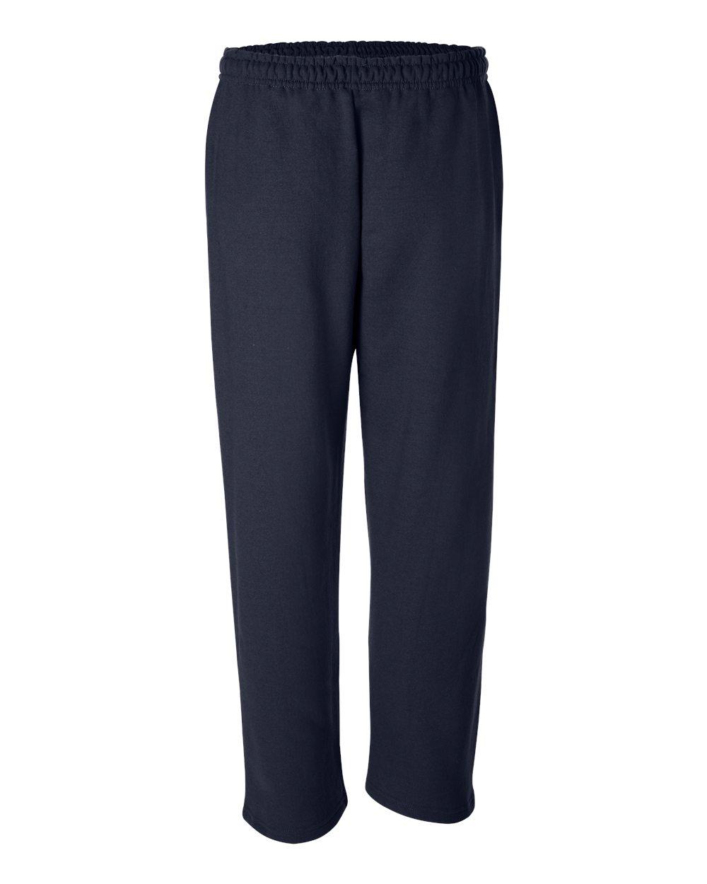 Gildan-Mens-DryBlend-Open-Bottom-Pocket-Sweatpants-12300-up-to-2XL thumbnail 13