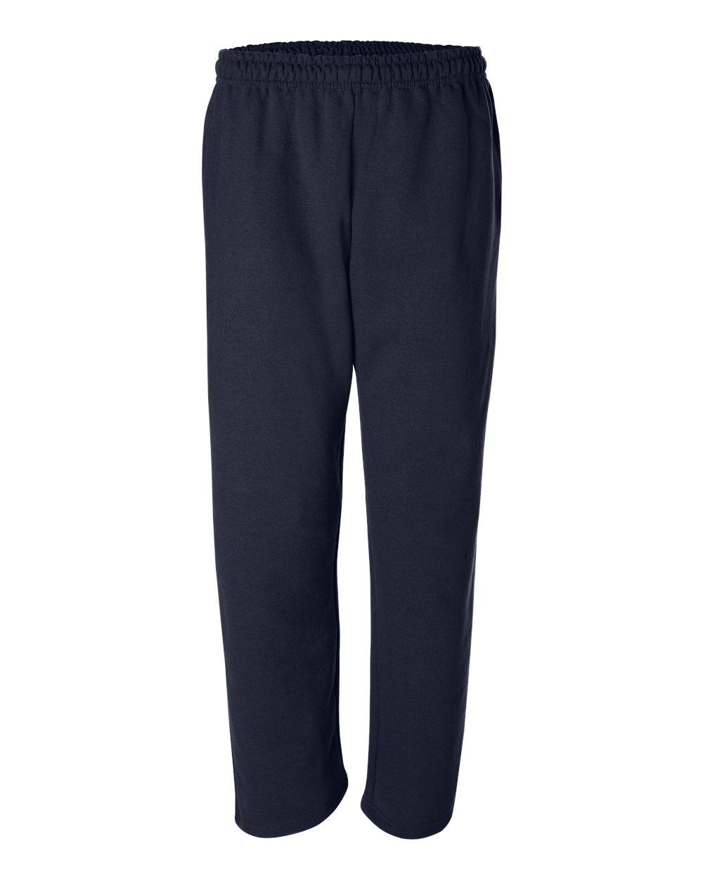 Gildan-Mens-DryBlend-Open-Bottom-Pocket-Sweatpants-12300-up-to-2XL thumbnail 12