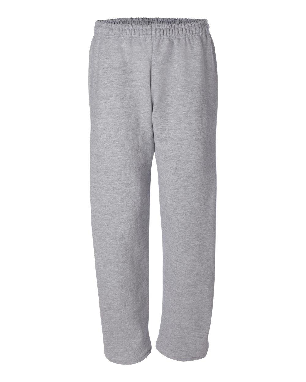 Gildan-Mens-DryBlend-Open-Bottom-Pocket-Sweatpants-12300-up-to-2XL thumbnail 15