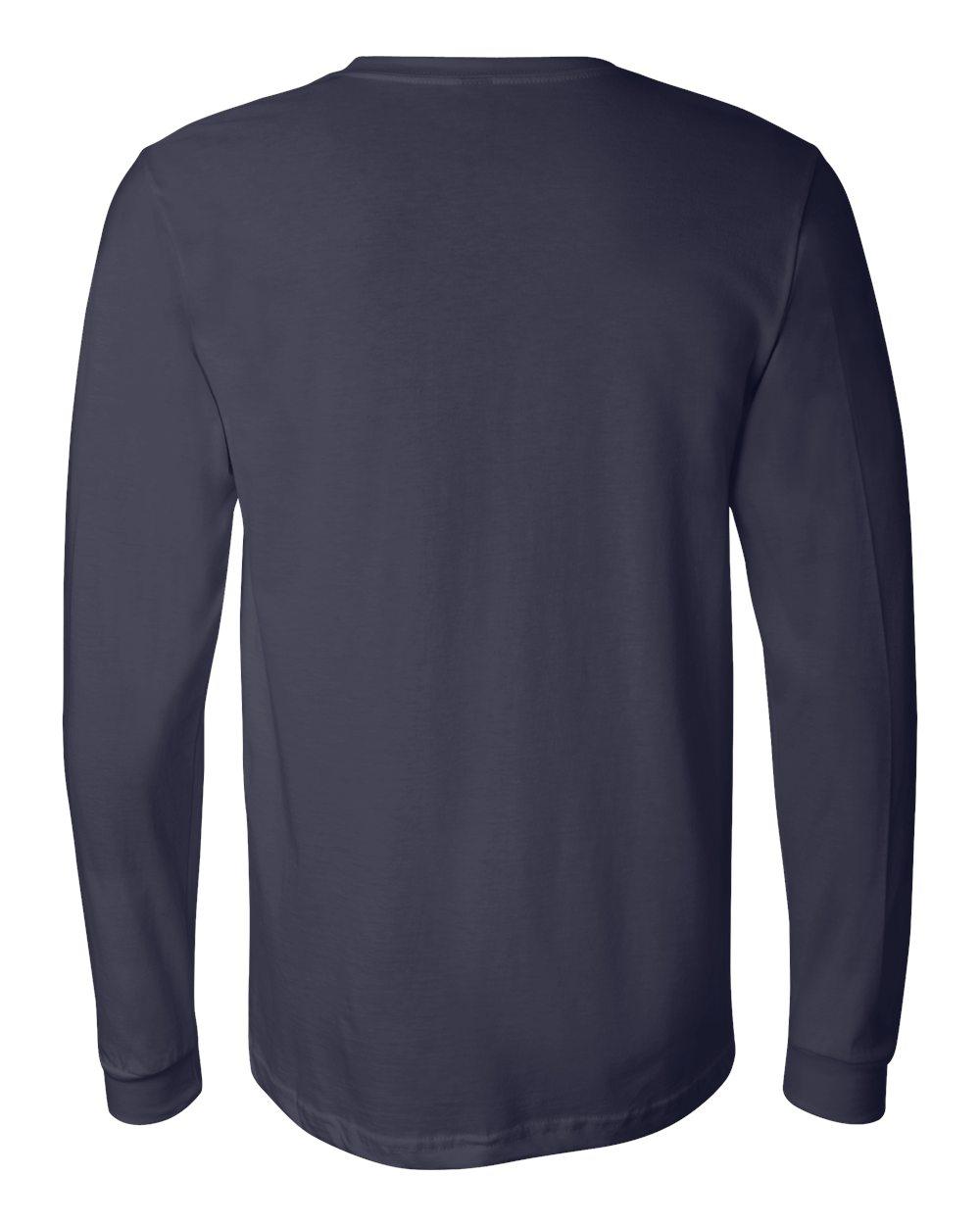 Bella-Canvas-Mens-Blank-Top-Long-Sleeve-Jersey-Tee-T-Shirt-3501-up-to-3XL thumbnail 89