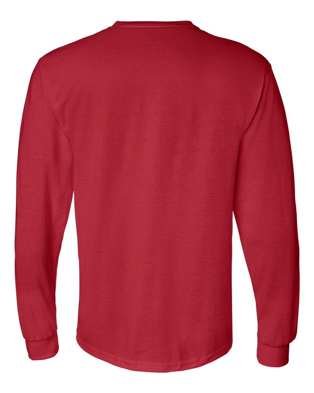 Gildan-Mens-Blank-DryBlend-50-50-Cotton-Long-Sleeve-T-Shirt-8400-up-to-3XL miniature 34