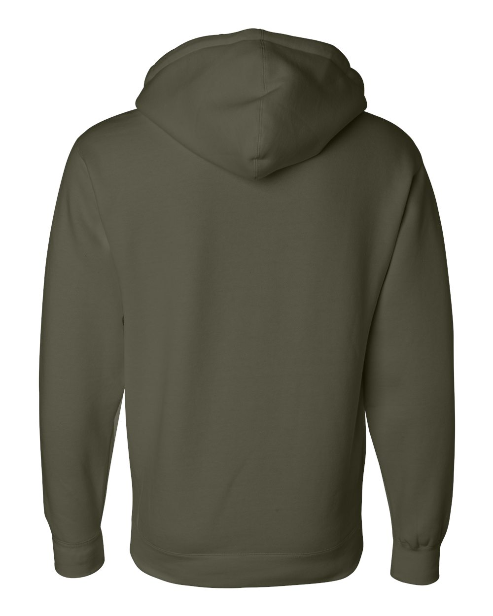 Independent-Trading-Co-Mens-Hooded-Pullover-Sweatshirt-IND4000-up-to-3XL miniature 10