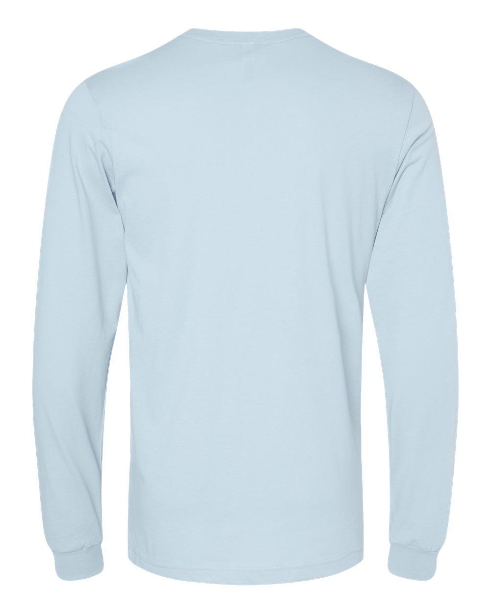 Bella-Canvas-Mens-Blank-Top-Long-Sleeve-Jersey-Tee-T-Shirt-3501-up-to-3XL thumbnail 16