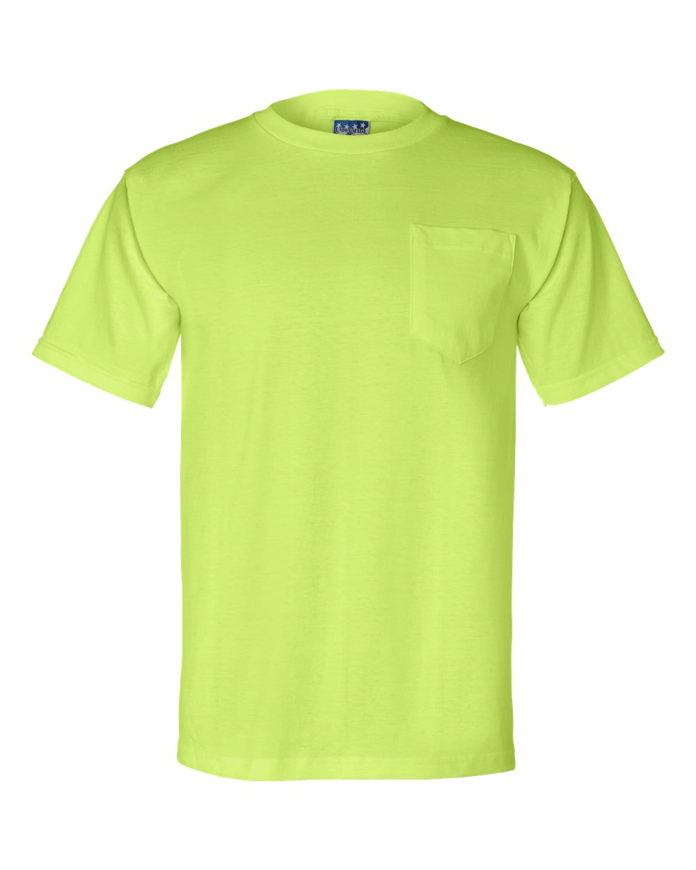 Bayside-Mens-Union-Made-Short-Sleeve-T-Shirt-with-a-Pocket-3015-up-to-3XL thumbnail 12