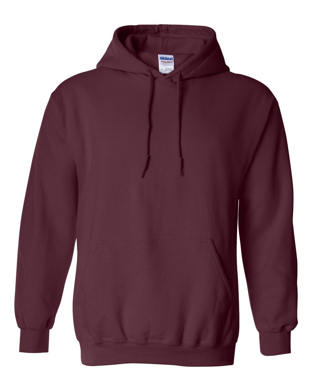 Gildan-Mens-Blank-Hoodie-Heavy-Blend-Hooded-Sweatshirt-Solid-18500-up-to-5XL thumbnail 56