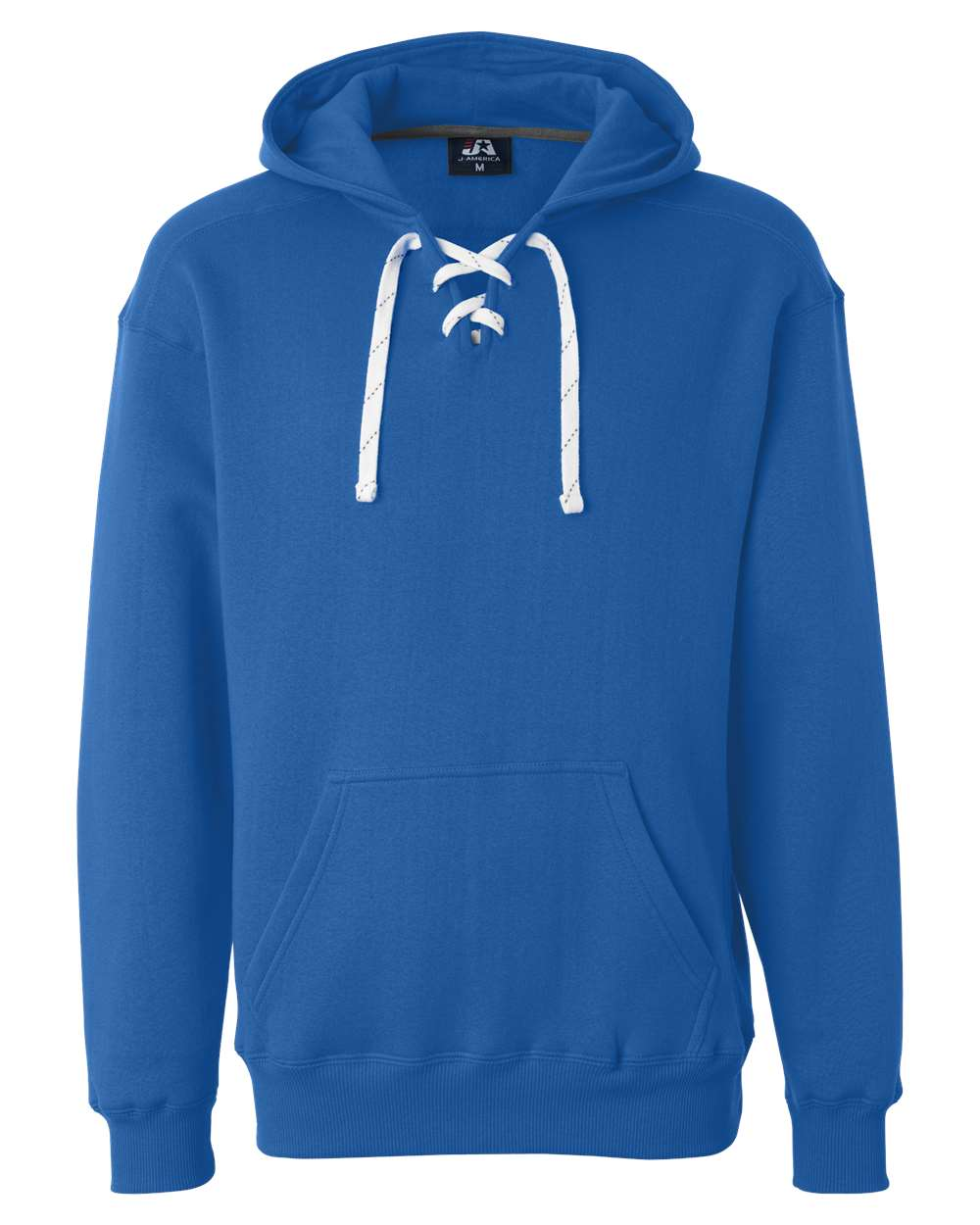J-America-Mens-Blank-Sport-Lace-Hooded-Sweatshirt-8830-up-to-3XL thumbnail 24