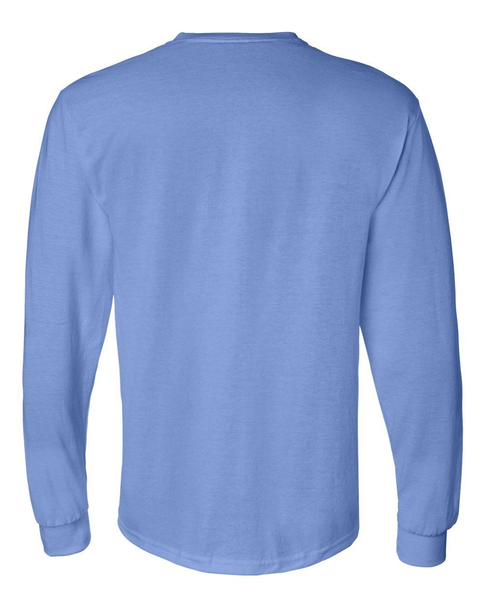 Gildan-Mens-Blank-DryBlend-50-50-Cotton-Long-Sleeve-T-Shirt-8400-up-to-3XL miniature 13