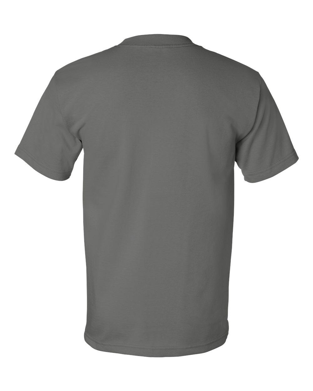 Bayside-Mens-Cotton-Blank-USA-Made-Short-Sleeve-T-Shirt-5100-up-to-5XL thumbnail 16