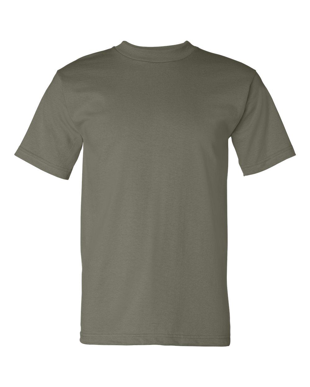 Bayside-Mens-Cotton-Blank-USA-Made-Short-Sleeve-T-Shirt-5100-up-to-5XL thumbnail 39