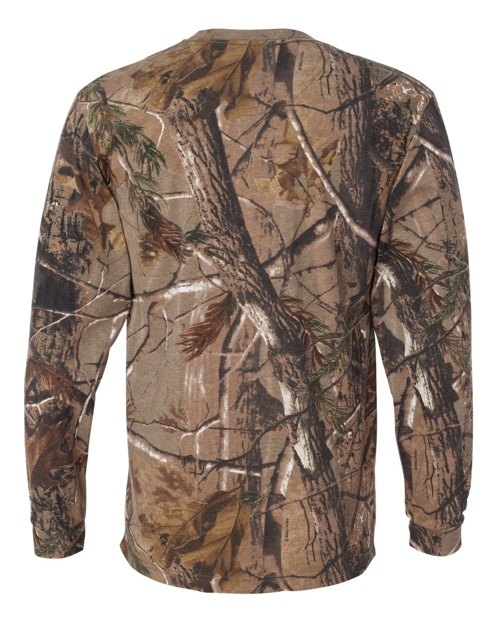Code-Five-Mens-Adult-Realtree-Camo-Long-Sleeve-Tee-3981-up-to-3XL miniature 7