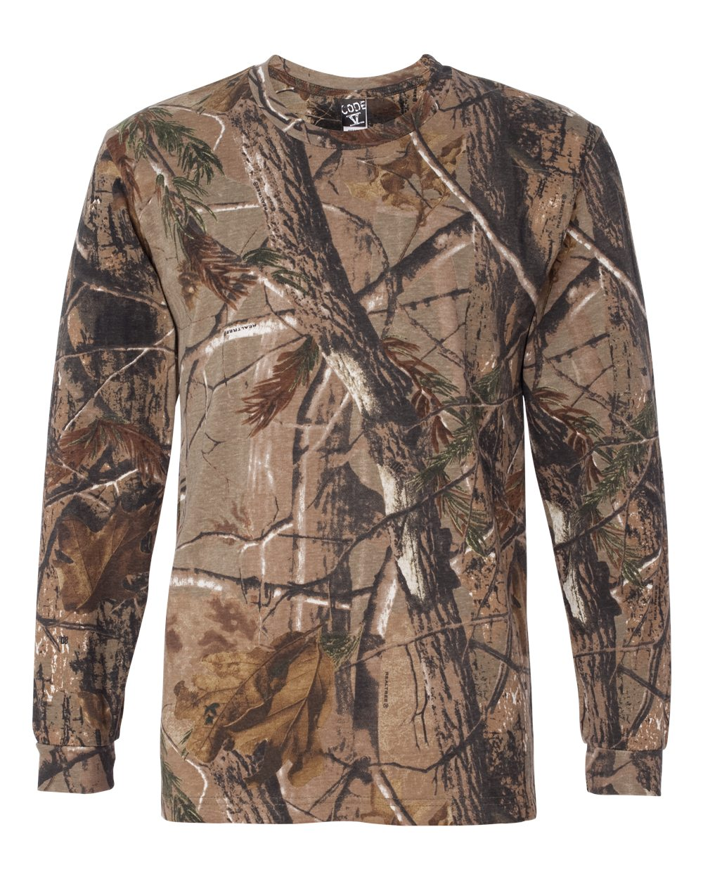 Code-Five-Mens-Adult-Realtree-Camo-Long-Sleeve-Tee-3981-up-to-3XL miniature 6