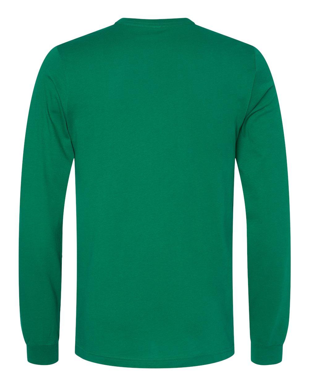 Bella-Canvas-Mens-Blank-Top-Long-Sleeve-Jersey-Tee-T-Shirt-3501-up-to-3XL thumbnail 40